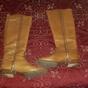 Tory Burch conac color boots size 8.5